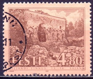 Estonia. 1997. 292. Castle. USED.