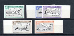 GUERNSEY-SARK 1968 SET UNMOUNTED MINT IMPERFORATE
