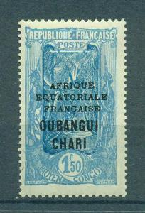 Ubangi-Shari sc# 69 mh cat value $7.00