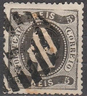 Portugal #25 F-VF Used CV $42.50 (A16419)