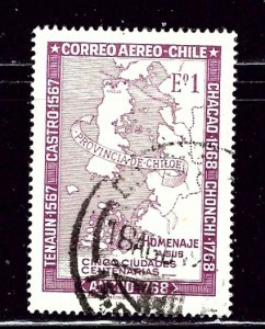 Chile C283 Used 1968 issue    (ap3066)