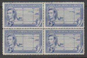 Cayman Islands, Scott 115 (SG 121a), MNH block