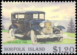 Norfolk Islands #569-572, Complete Set(4), 1995, Auto, Never Hinged