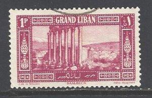Lebanon Sc # 54 used (RS)
