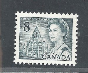Canada SCRATCH ON FOREHEAD/INK RUN-OUT VARIETIES SCOTT 544pviii MNH (BS17308-1)