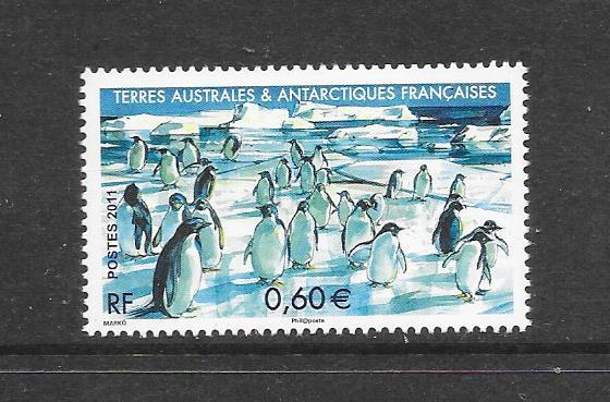 BIRDS  - FRENCH SOUTHERN ANTARCTIC TERRITORIES #450   MNH