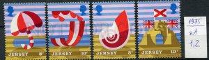 265875 UK JERSEY 1975 year MNH stamps set SEA SHELL