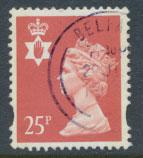 Great Britain Northern Ireland SG NI72 SC# NIMH59  Machin 25p Used  see scan