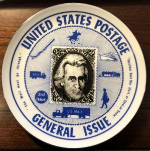 Vintage Collector Plate featuring Andrew Jackson Scott 73 in Like New condition