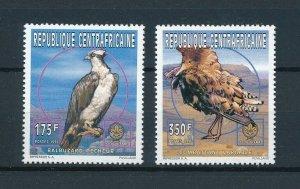 [102980] Central African Republic 1997 Birds vögel oiseaux From set MNH