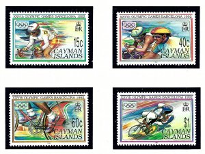 Cayman Is 653-56 MNH 1992 Summer Olympics   (KA)