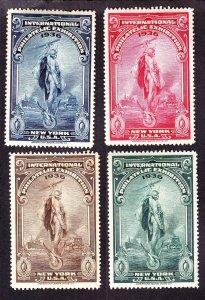 US 1936 International Philatelic Exhibition NY Cinderella Stamp