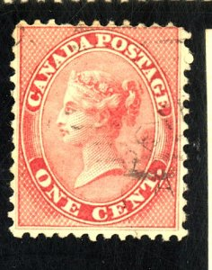CANADA #14 USED FINE CAT $90