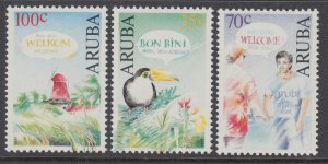 Aruba 75-77 MNH VF