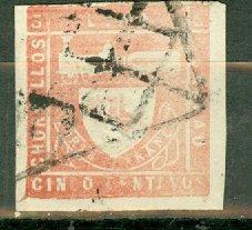 Peru 19a used CV $42.50