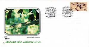 Venda - 1986 Reptiles 18c Black Mamba FDC SG 132