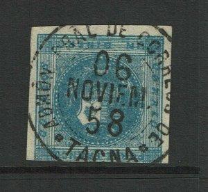 Peru SC# 3 Used / TACNA Cancel - S8919