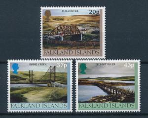 [72077] Falkland Islands 2000 Bridges Rivers  MNH