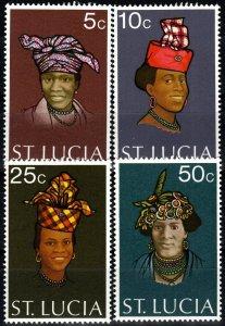 St Lucia #330-33  MNH