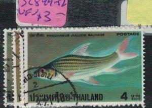 Thailand SC 849-52 VFU (8eev)