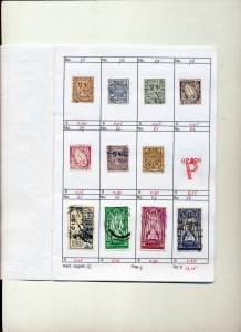 Ireland Mid/Modern Used On Approval Pages(Apprx 120 Items) ZZ 609