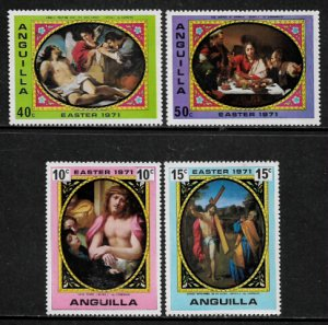 Anguilla #119-22 MNH Set - Easter Paintings