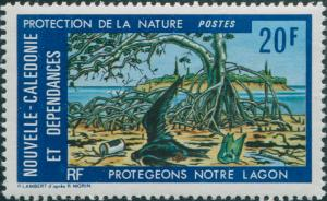 New Caledonia 1976 SG572 20f Nature Protection MNH