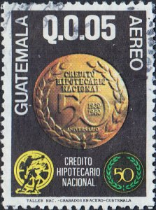 Guatemala #C758 Used