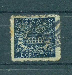 Poland sc# J30 (2) used cat value $1.10
