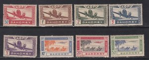 Dahomey# C6-13, Transport Plane & Caravan, NH, Faults 1/2 Cat.