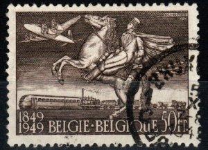Belgium #C12  F-VF Used CV $20.00 (X969)