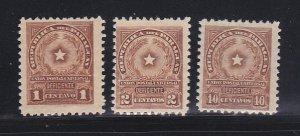 Paraguay J5-J6, J10 MHR Coat Of Arms