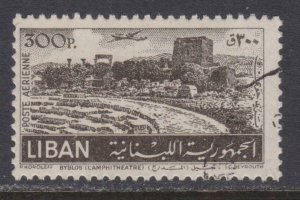 Lebanon Airmail # C174 , Byblos Amphitheater , F-VF used - I Combine S/H