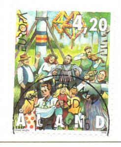 Aland Sc  144 1998 Midsummer Celebration stamp used