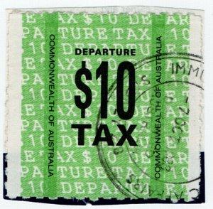 (I.B) Australia Revenue : DepartureTax $10