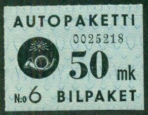 FINLAND #Q4, Mint Never Hinged, Scott $20.40