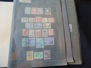 Argentina 1959-1966 Stamp Collection on Album Pages