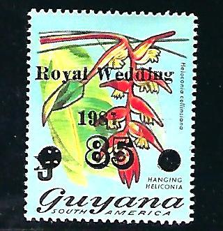 Guyana Scott #489, Unused, never hinged