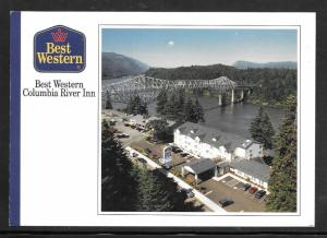 Just Fun Postal Card  #3484 on Cover Columbia River (my5133)