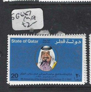 QATAR  (PP2306B)  SHEIKH      SG  687        MNH