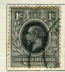 BRITISH KUT; 1912 early GV issue fine used 1c. value