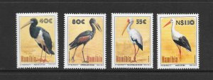 BIRDS - NAMIBIA #766-9   MNH