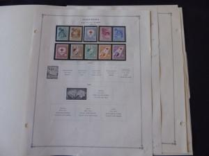 Middle East 1956-1959 Mint/MNH Stamp Collection on Scott Int Album Pages