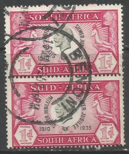 SOUTH AFRICA 69 VFU PAIR Z7474-5