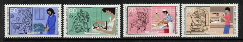Germany B654-7 MNH - Industry