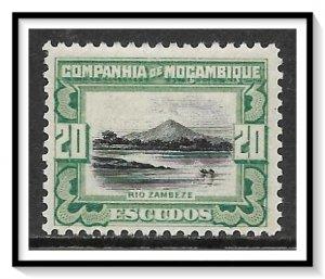 Mozambique Company #161 Zambezi River MH