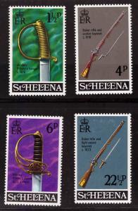 Saint Helena Scott 263-266 MH*  set