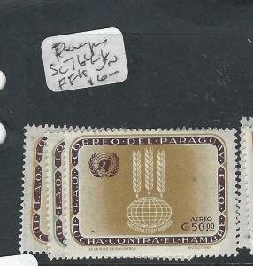 PARAGUAY  (P0206B)  UN FFH  SC 764-6  MOG