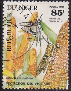 Niger 692 Environmentally Damaging Species 1985