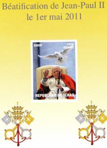 Chad Pope John Paul II Beatification s/s Imperforated mnh.vf